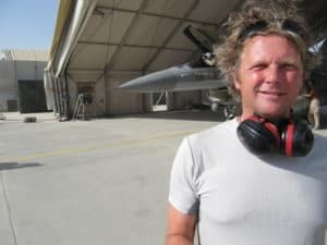 Comedian Tom Sligting in Afghanistan voor comedy show, super ervaring