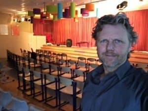 150 leraren en leraressen mochten genieten van de show van tom sligting
