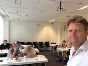 De intensieve workshop comedy door Tom Sligting