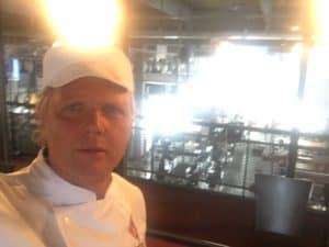 tom sligting speelt bakker in de commercial van Bolletje