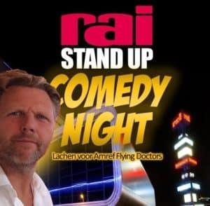 Tijdens de Rai Stand up Comedy Night mocht Tom Sligting als headliner afsluiten