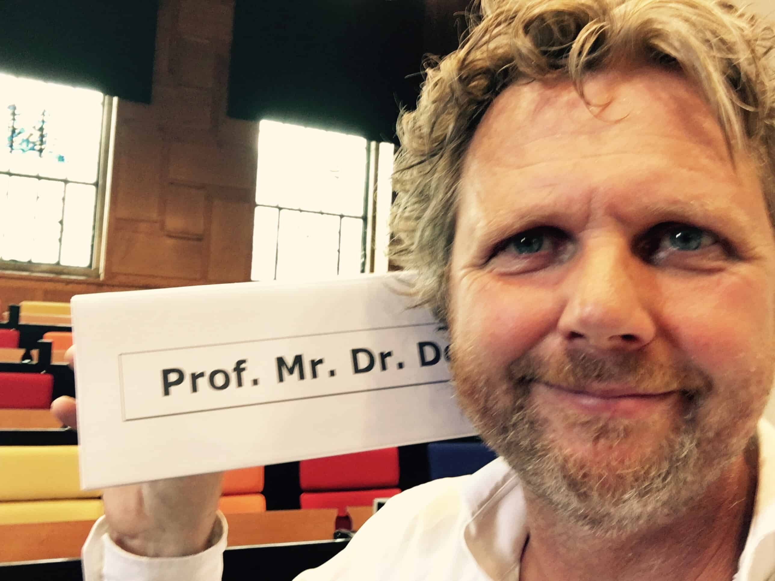 Professor Mr Dr