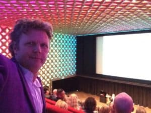 tom sligting tijdens show in media city Hilversum