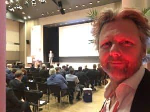 Een wrap up comedy show van Tom Sligting voor de landelijke UWV dag Forum Den Haag