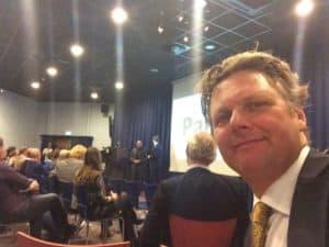 Als spreker vlak na Andre Kuipers is.. een uitdaging, wel mooie ervaring