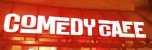 Tom Sligting was de eerste speler van Het Comedy Cafe Amsterdam in 1994